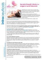 The secret of youth: oxygen infusion and hyaluronic acid – September 2012