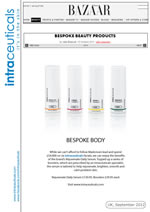 Harper's online UK Intraceuticals Booster Range