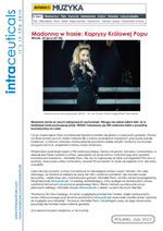 Madonna in a concert tourMichelle Peck interview- July 2012