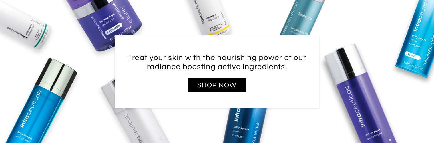 Treat your skin with the nourishing power of radiance boosting ingredients