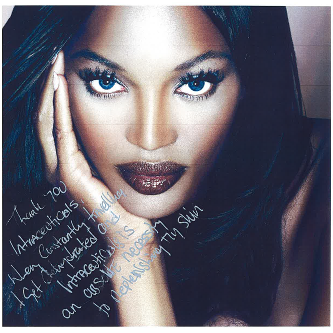Intraceuticals - Naomi Campbell